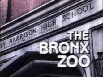 bronx zoo tv series logo